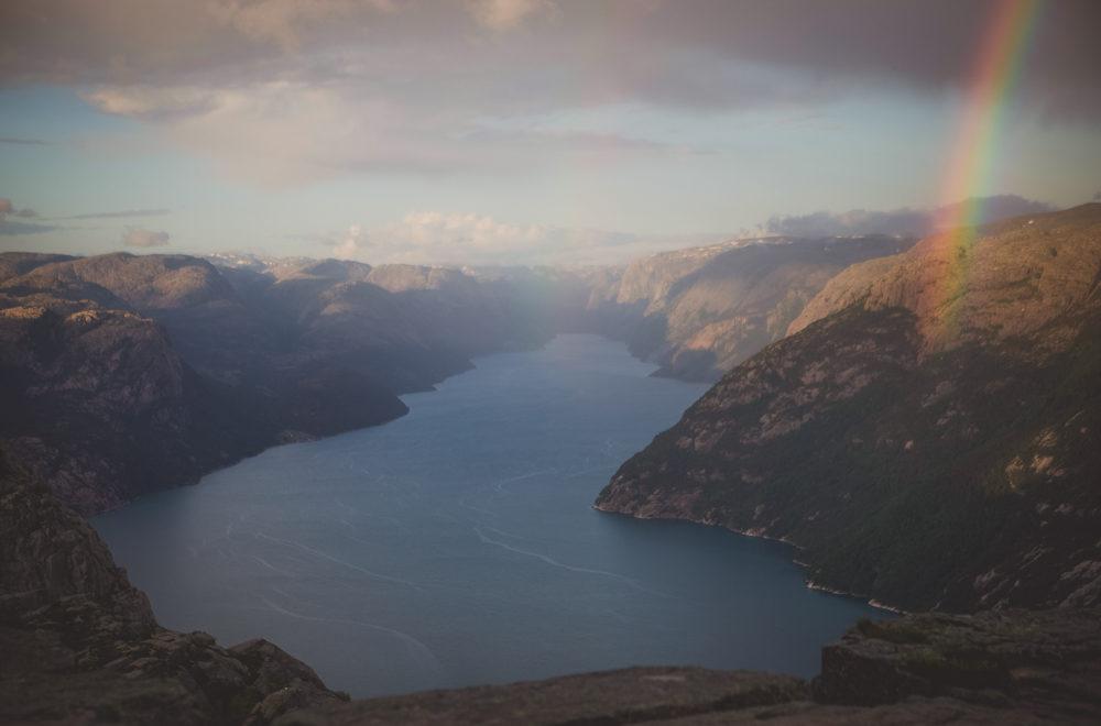 Nórsko zo vzduchu