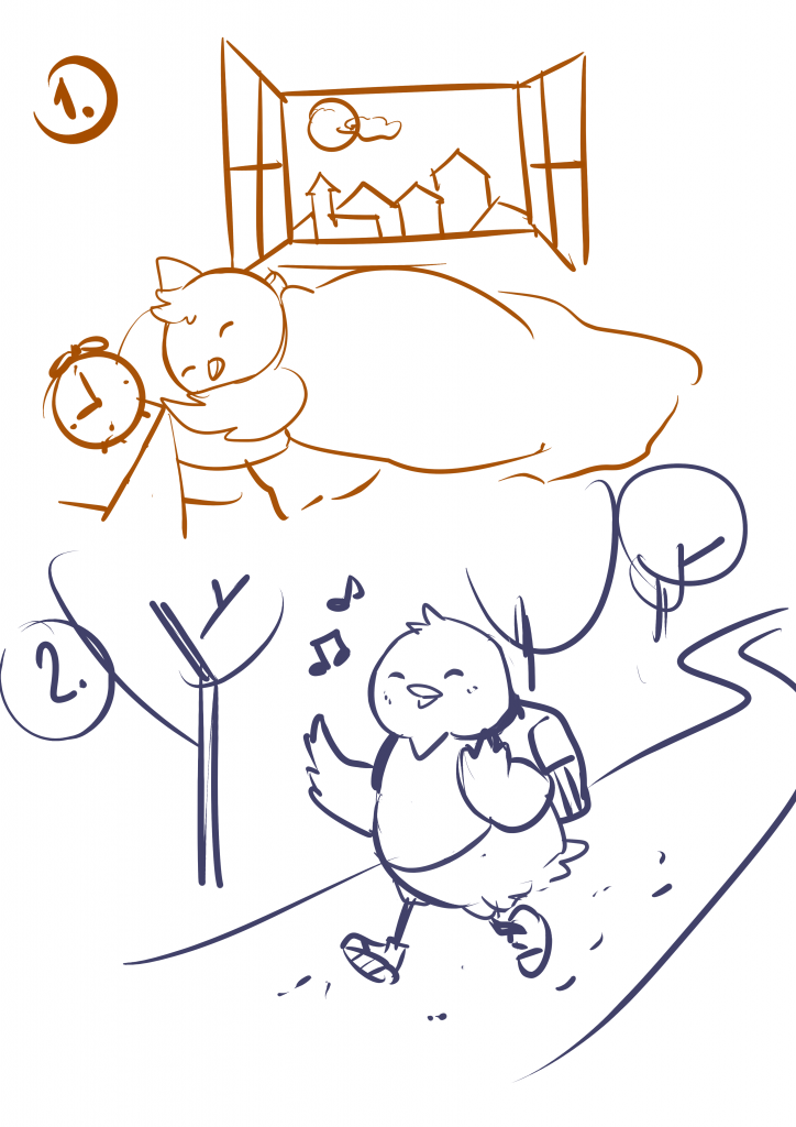 Kuriatko Spinkáčik a snehuliak